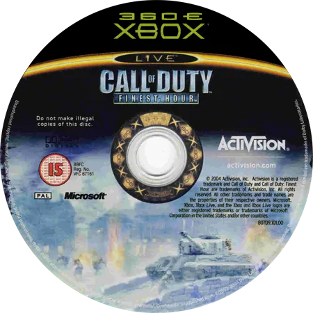 скачать Call of Duty: Finest Hour (XBOX360E)
