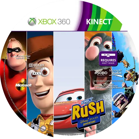 скачать Kinect Rush: A Disney-Pixar Adventure