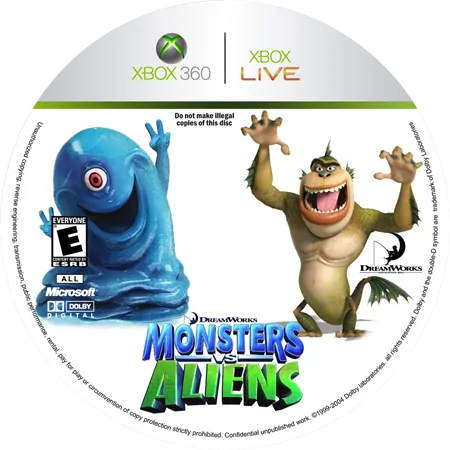 скачать Monsters Vs. Aliens