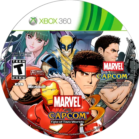 скачать Marvel Vs. Capcom 3: Fate of Two Worlds