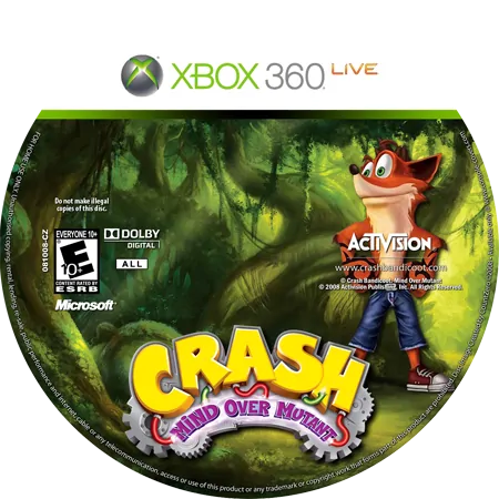 скачать Crash Bandicoot: Mind Over Mutant