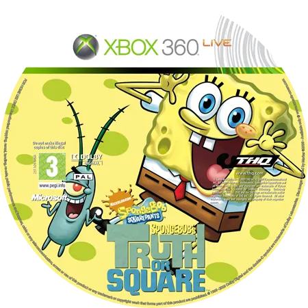 скачать SpongeBob's Truth or Square