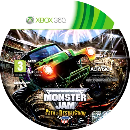 скачать Monster Jam Path of Destruction