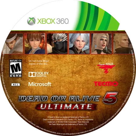 скачать Dead or Alive 5 Ultimate