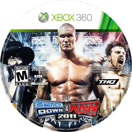 скачать WWE SmackDown vs Raw 2011