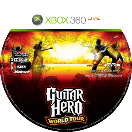 скачать Guitar Hero: World Tour