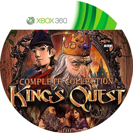 скачать King's Quest The Complete Collection