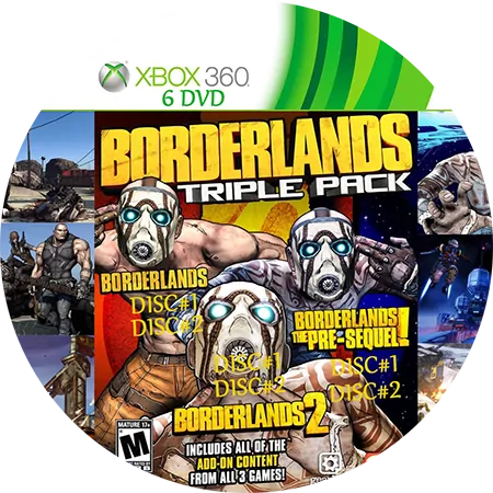 скачать Borderlands: Triple Pack