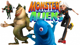 скачать Monsters Vs. Aliens для 360